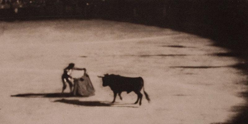 Une corrida en 1908.