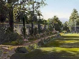 Un sublime jardin en Californie, illustrant un objet sonore de Boris Billier pour Magazine Aléatoire.