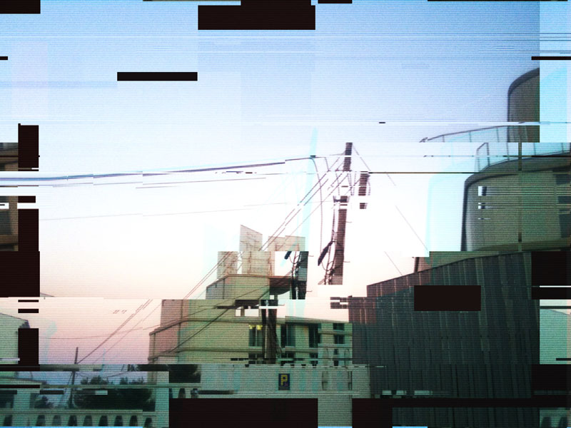 Une drôle de construction toute décomposée, une image de Yann Febvre pour une de ses chroniques pour Magazine Aléatoire.
