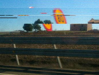 Un paysage désertique et décomposé, une image de Yann Febvre pour une de ses chroniques pour Magazine Aléatoire.