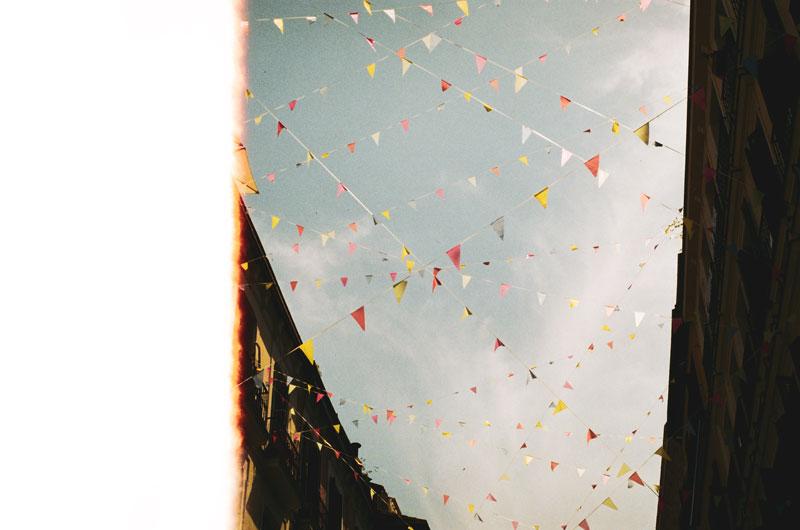 Une image de soir, photographie de Mark Neal illustrant l'édito de Magazine Aléatoire.
