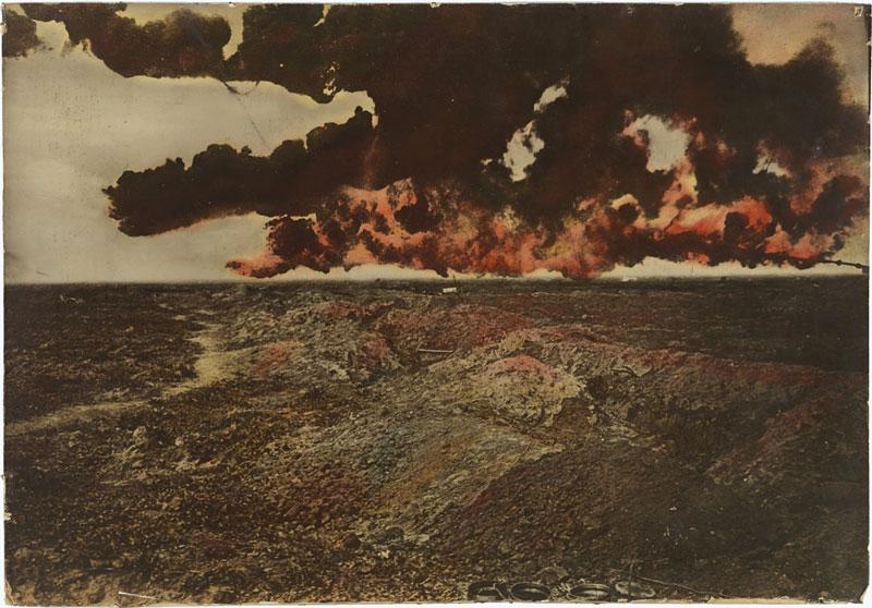 Un paysage tourmenté, une ambiance de guerre, chronique de Paul de Sorbier parue dans Magazine Aléatoire.